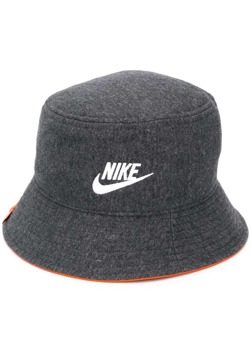 Nike embroidered logo bucket hat