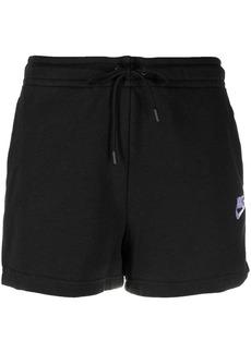 Nike embroidered-logo track shorts