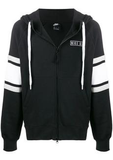 Nike embroidered logo zip-up hoodie