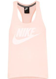 Nike Essential Printed Slub Stretch-jersey Tank