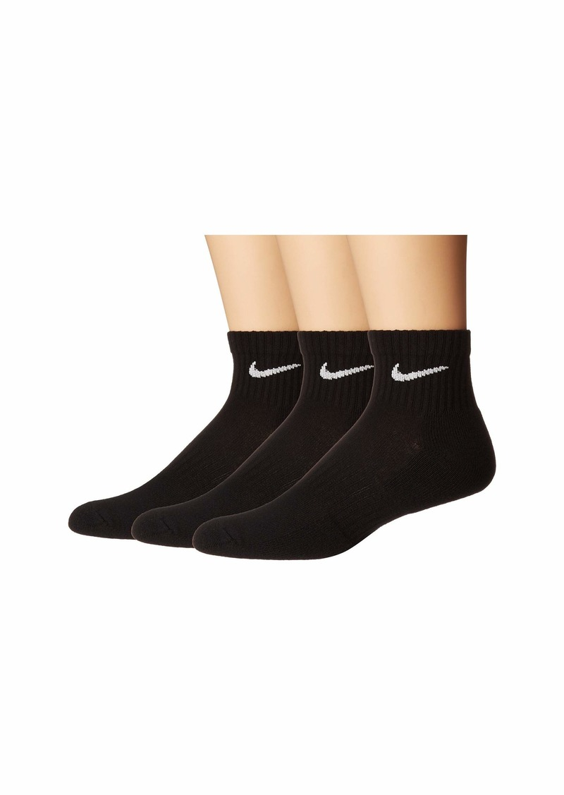 Nike Everyday Cushion Ankle Socks 3-Pair Pack