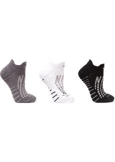 Nike Everyday Max Cushion Set Of Three Dri-fit Stretch-knit Socks