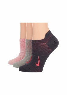 Nike Everyday Plus Lightweight Training No Show Socks 3-Pair Pack