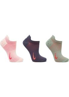 Nike Everyday Plus Set Of Three Dri-fit Stretch-knit Socks