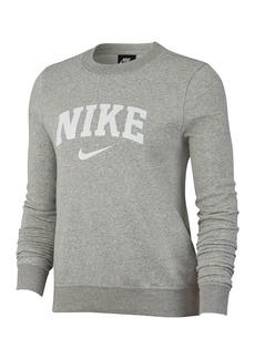 Nike Fleece Crew Varsity Sweatshirt