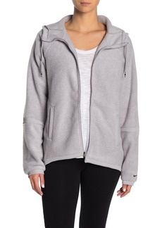 Nike Fleece Drawstring Hooded Jacket
