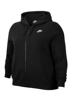 Nike Fleece Logo Hoodie (Plus Size)