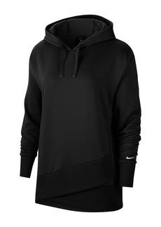 Nike Foldover Hem Knit Hoodie