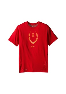 Nike Football Gear Up Short Sleeve Fitted Top (Little Kids/Big Kids)