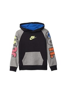 Nike French Terry Just Do It Pullover Hoodie (Toddler/Little Kids)