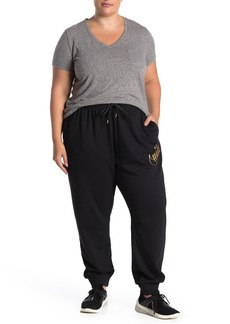 Nike Front Glitter Logo Sweatpants (Plus Size)
