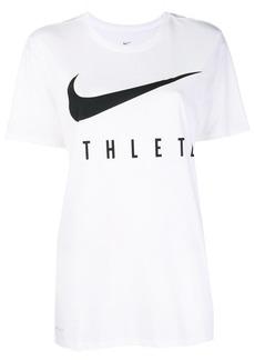 Nike front logo printed T-shirt