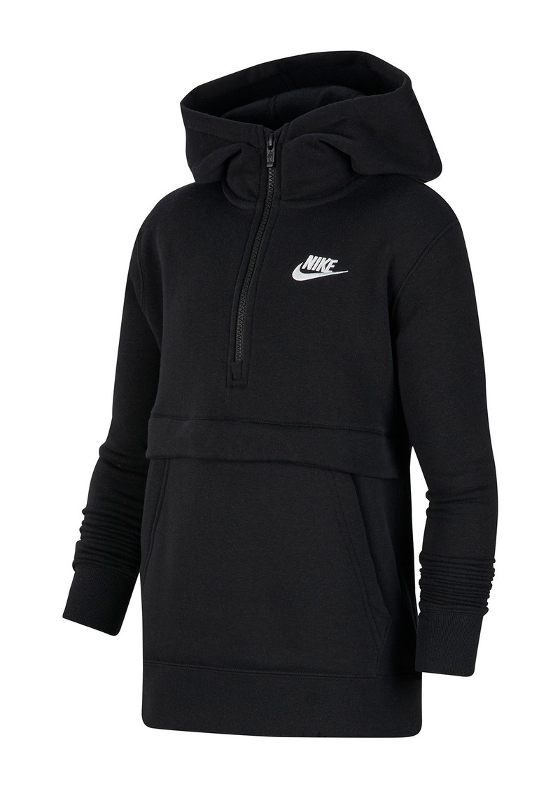 Nike Front Zip Club Hoodie (Big Boys)