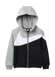 Nike Front Zip Hoodie (Toddler Boys)