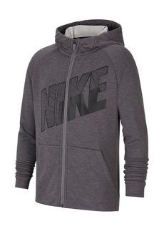 Nike Full Zip Graphic Training Hoodie (Big Boys)