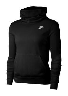 Nike Funnel Neck Fleece Lined Varsity Hooded Pullover