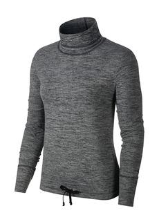 Nike Funnel Neck Long Sleeve Yoga Top