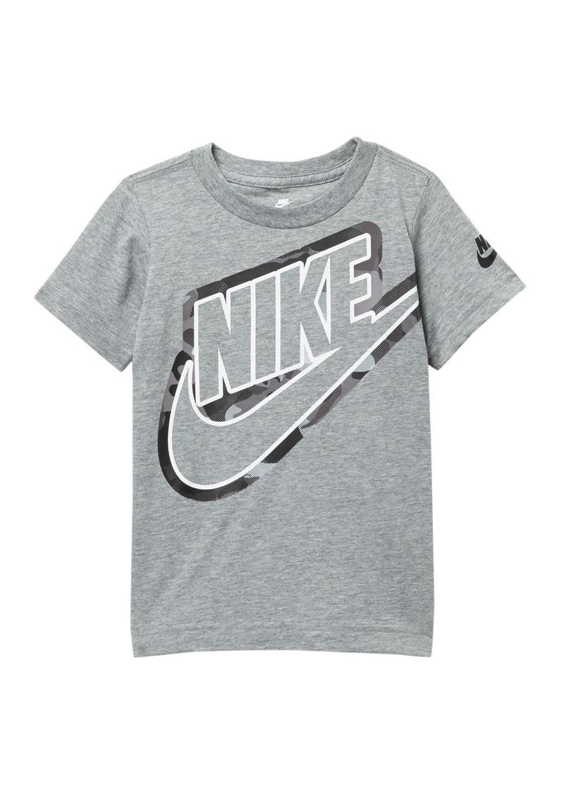 Nike Futura Outline Graphic Camo T-Shirt (Toddler Boys)