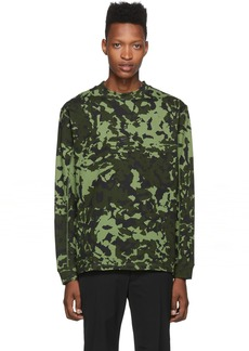 Nike Green MMW Edition NRG AOP Long Sleeve T-Shirt