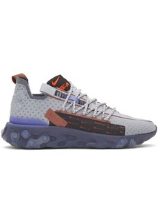 Nike Grey React Ispa Sneakers