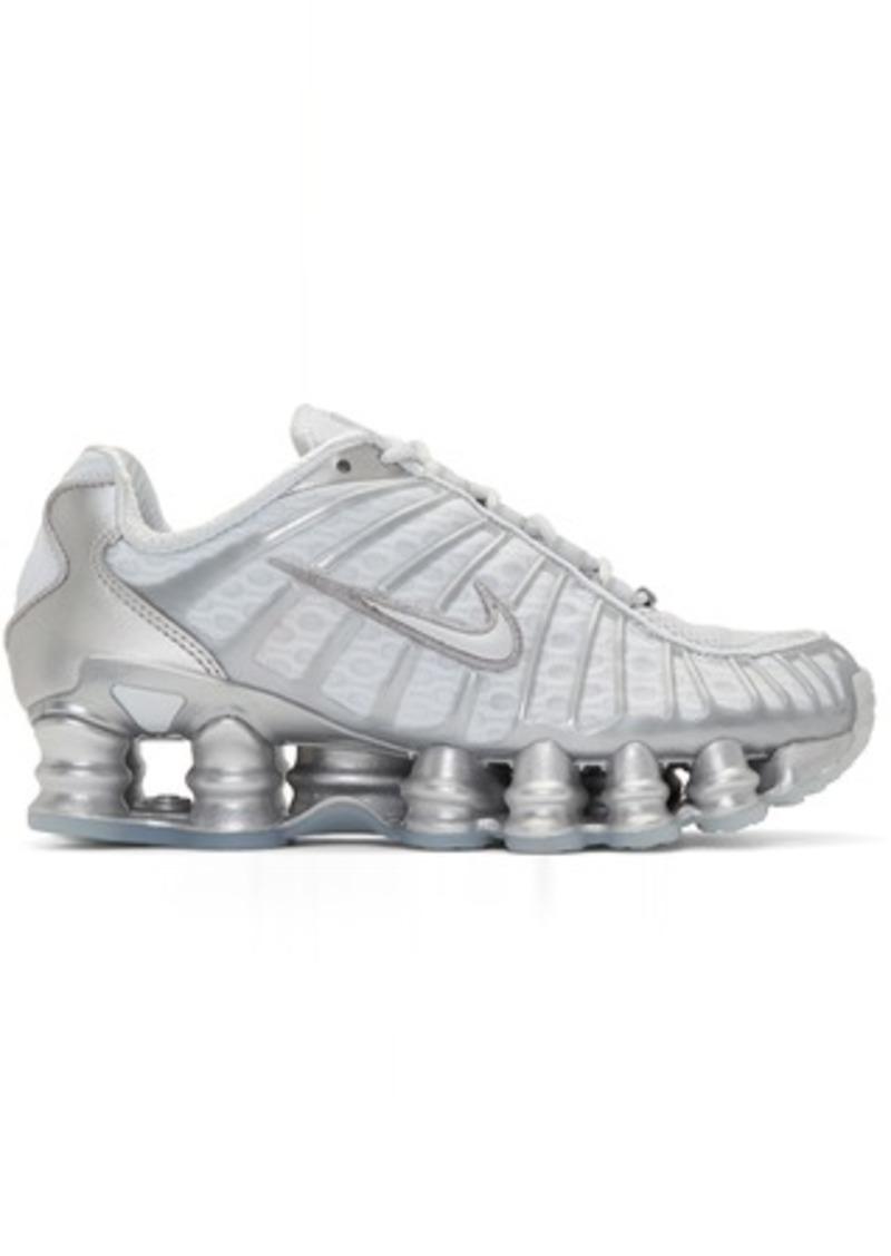 Nike Grey Shox TL Sneakers