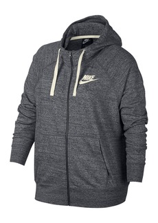 Nike Gym Vintage Full Zip Hoodie (Plus Size)