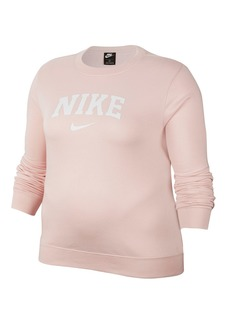 Nike HBR Fleece Pullover Sweatshirt (Plus Size)