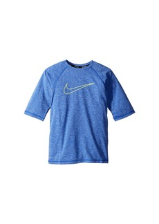 Nike Heather Swoosh Half Sleeve Hydroguard (Big Kids)