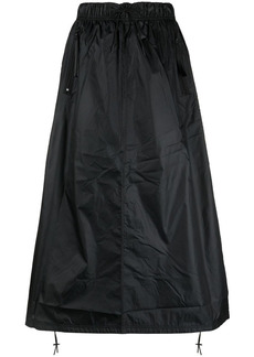 Nike high-rise drawstring skirt