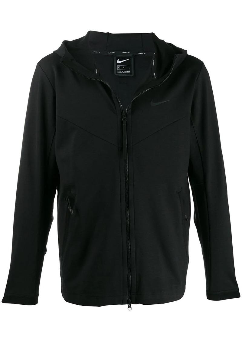 Nike hooded jersey jacket
