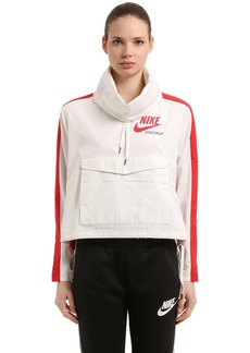Nike Hooded Techno Pullover Jacket