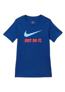Nike JDI Swoosh Short Sleeve Tee (Big Boys)