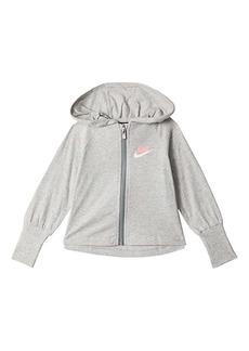 Nike Jersey Zip-Up Hoodie (Little Kids)