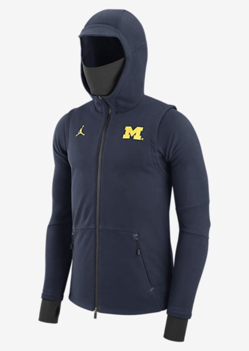 Michigan Jordan Gear >> Nike Jordan 465 Icon Fleece Michigan Outerwear