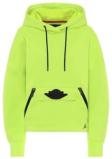 Nike Jordan cotton-blend hoodie