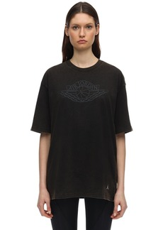 Nike Jordan Loose Fit Cotton Jersey T-shirt