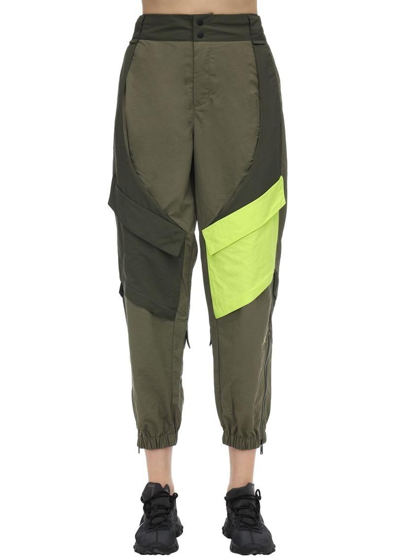 Jordan Nylon Cargo Sweatpants