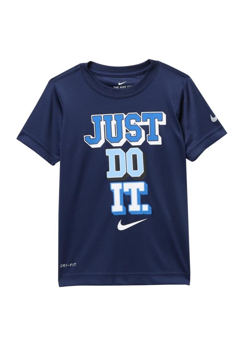 Nike Just Do It Collegiate Dri-Fit Tee (Little Boys)