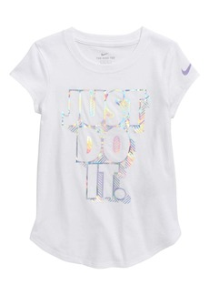 Nike Just Do It Graphic T-Shirt (Toddler Girls & Little Girls)