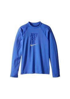 Nike Just Do It Long Sleeve Hydroguard Top (Big Kids)