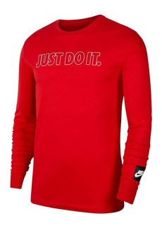 Nike Just Do It Outline Logo Pullover