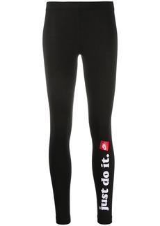 Nike Just Do It print leggings