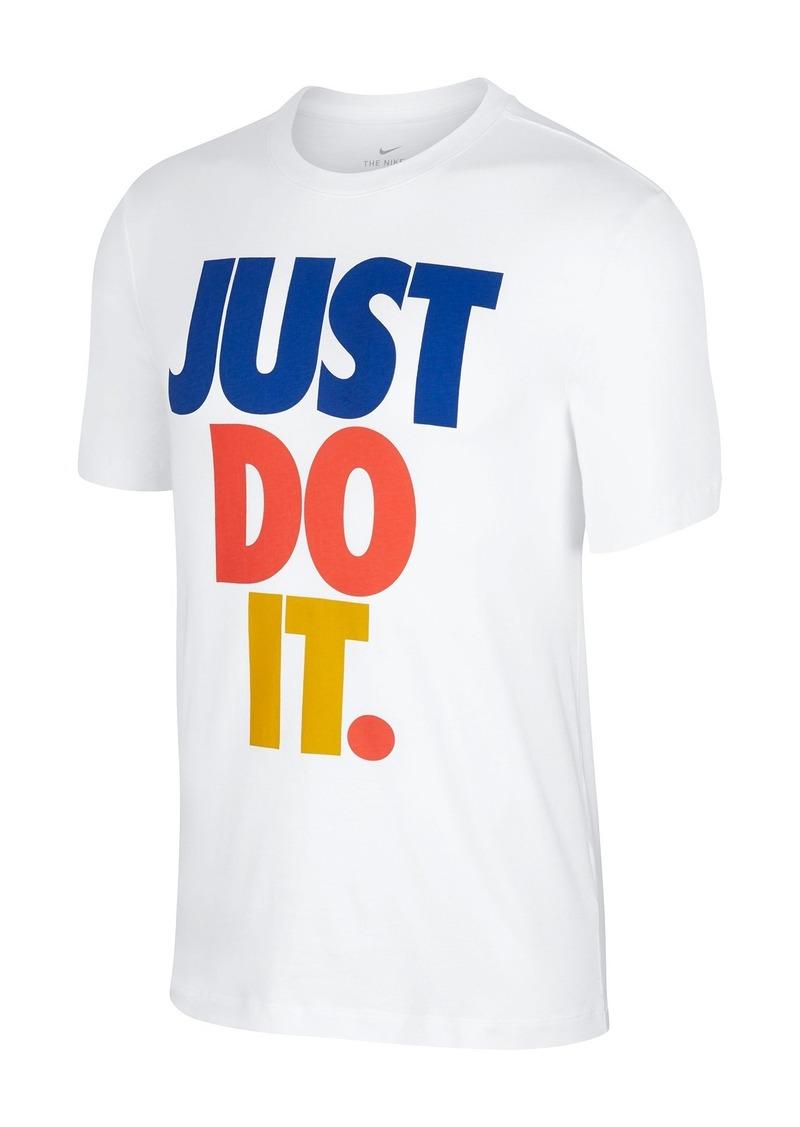 Nike Just Do It Print Short Sleeve T-Shirt