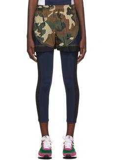 Nike Khaki Sacai Edition NRG Ga NI-15 Tempo Shorts