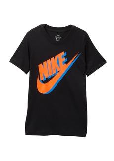 Nike Large Futura Print Short Sleeve Tee (Big Boys)