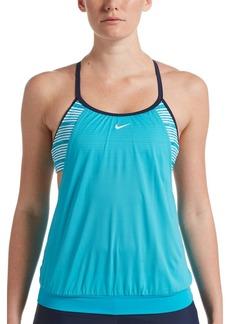 Nike Layered Sport Tankini Top
