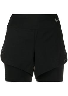 Nike layered performance shorts