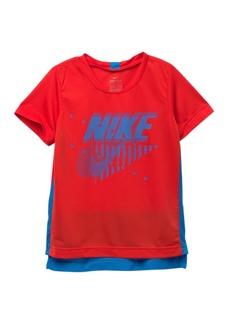 Nike Legacy Dri-FIT Short Sleeve T-Shirt (Little Boys)