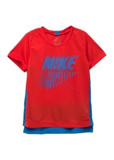 Nike Legacy Dri-FIT Short Sleeve T-Shirt (Toddler Boys)