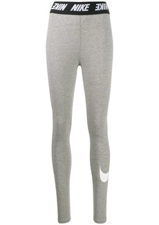 Nike logo band leggings